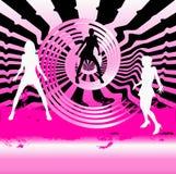 Dance Club Background Stock Image