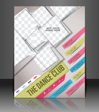 Dance Club Flyer Royalty Free Stock Image
