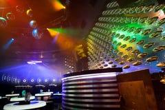 Dance club interior. Bulgaria. Dance club interior. Payner Dance Center Bulgaria Stock Photo