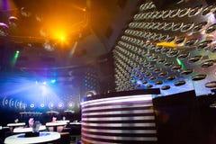 Dance club interior. Bulgaria Royalty Free Stock Image