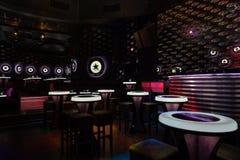 Dance club interior. Bulgaria Royalty Free Stock Photo