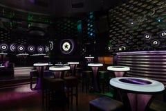 Dance club interior. Bulgaria Stock Images
