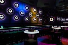 Dance club interior. Bulgaria Stock Image