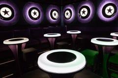 Dance club interior. Bulgaria Stock Photo
