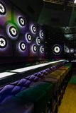 Dance club interior. Bulgaria, tarnovo. Dance club interior. Payner Dance Center Bulgaria Stock Photo