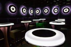 Dance club interior. Bulgaria tarnovo Royalty Free Stock Photography