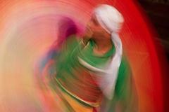 Dance with colors Royalty Free Stock Photography