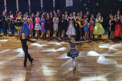 Dance Contest, finisch Royalty Free Stock Photography