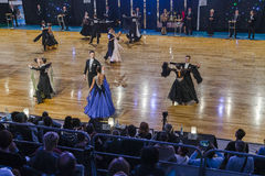 Dance Contest, finisch Royalty Free Stock Photos