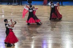 Dance Contest Stock Photo