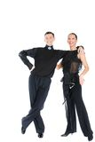 Dance couple Royalty Free Stock Images