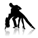 Dance couple Stock Photos