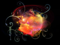Dance of Design Nebulae Stock Photo