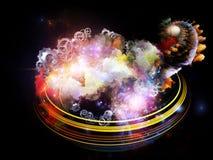 Dance of Design Nebulae Royalty Free Stock Photo