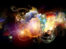 Dance of Design Nebulae Royalty Free Stock Image