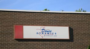 Dance Dynamics Bartlett, TN. Dance Dynamics a professional dance studio and academy located in Bartlett, TN Stock Photo