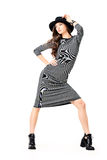 Dance and fashion Royalty Free Stock Images