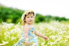 Dance in field Stock Images