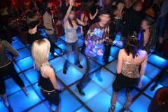 Dance floor 4 royalty free stock images