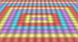 Dance floor disco light background Royalty Free Stock Images