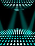Dance floor disco poster background Stock Photos