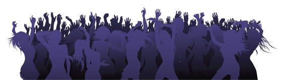 Dance floor illustration Royalty Free Stock Photography