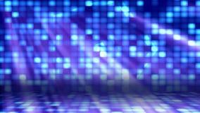 Dance Floor-Lichten 1 Loopable-Achtergrond stock videobeelden