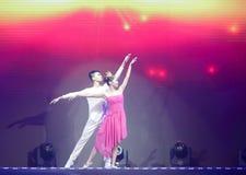 Dance:  flying wings Stock Image