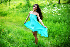 Dance in forest Royalty Free Stock Photos