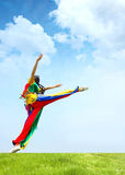 Dance girl Stock Images