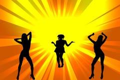 Dance Girls Royalty Free Stock Photography