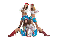Dance group Royalty Free Stock Image