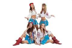 Dance group Stock Image