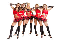 Dance group Royalty Free Stock Images