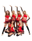Dance group Stock Photography