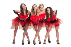 Dance group Stock Photo