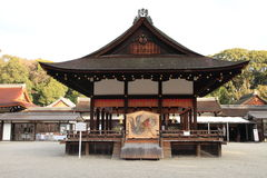 Dance hall of Shimogamo shrine in Kyoto Stock Images