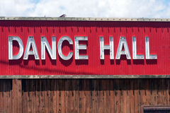 Dance Hall Sign Royalty Free Stock Images