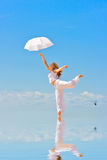 Dance in heaven Stock Photo