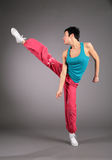 Dance hip hop girl Stock Photo