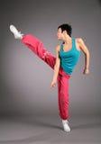 Dance hip hop girl stock photo