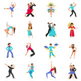 Dance Icon Flat Royalty Free Stock Image