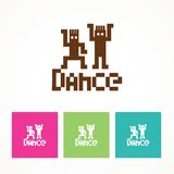 Dance icon Royalty Free Stock Images