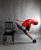 Dance improvisation Stock Image