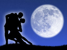 Free Dance In The Moon Stock Photography - 4805042