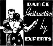 Dance Instruction Royalty Free Stock Photography