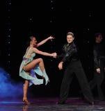 Dance with joy-Flamingo dance-the Austria's world Dance Royalty Free Stock Photos