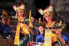 Dance legong kuntul. Denpasar-A Legong dancer when dancing to the accompaniment of herons Gamelan Gita Asmara group on campus Canada ISI Denpasar, Tuesday (16/7 royalty free stock images