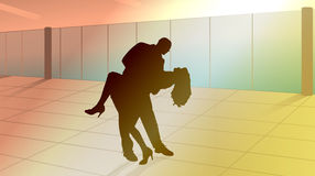 dance lessons Royalty Free Stock Image