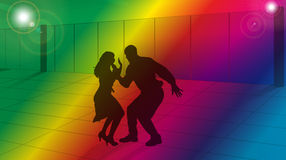Dance lessons Stock Images